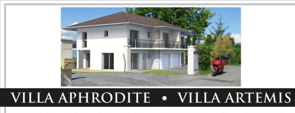 référence cabinet architecte Fabienne Guesdon, Villa Aphrodite villa artémis, Neuvecelle